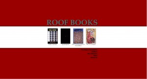 Roof Books