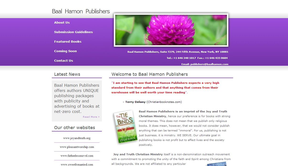 Baal Hamon Publishers