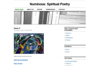 Numinous: Spiritual Poetry