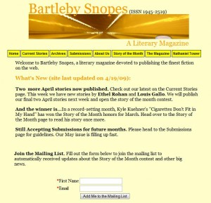 Bartleby Snopes