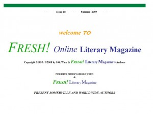 Fresh! Literary Magazine