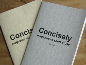 Concisely: magazine of short prose