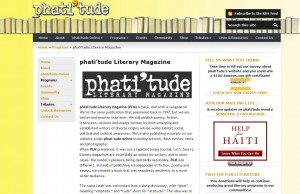phati'tude Literary Magazine