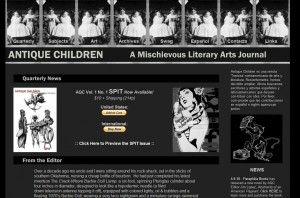 ANTIQUE CHILDREN: A Mischievous Literary Arts Journal