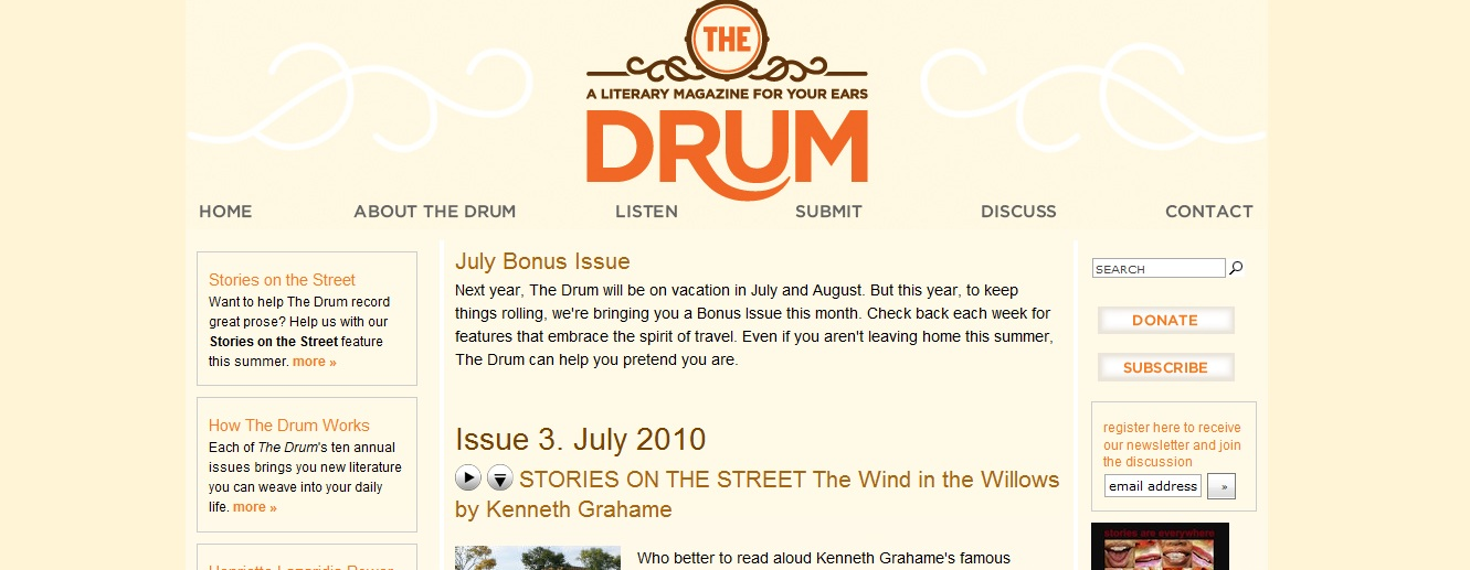 The Drum Literary Magazine