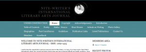 Nite-Writer's International Literary Arts Journal