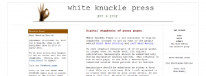 White Knuckle Press