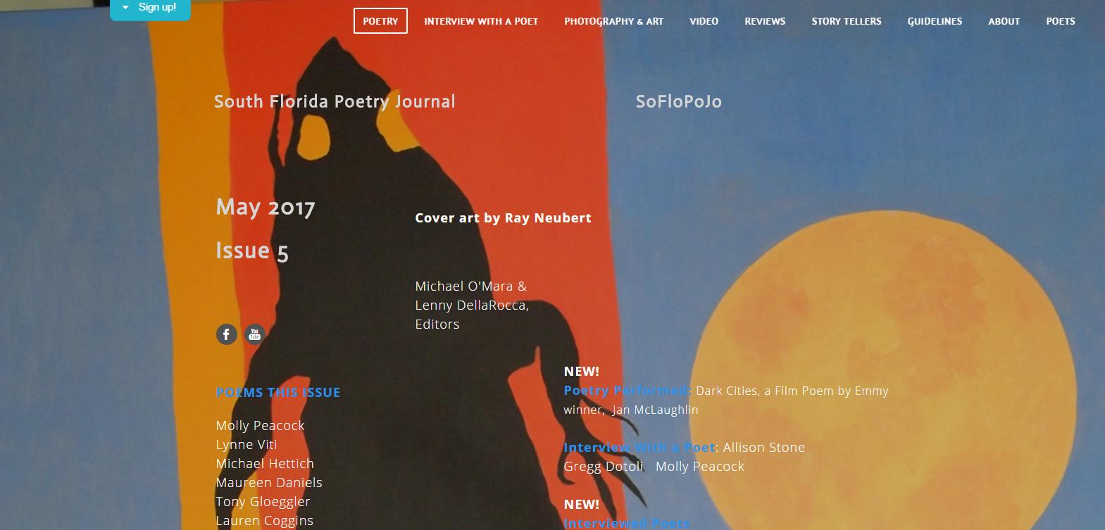 SoFloPoJo- South Florida Poertry Journal