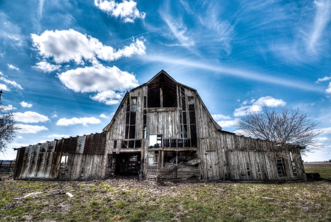 Lucky Barn by Brian Beatty,