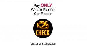 Pay ONLY What's Fair for Car Repair