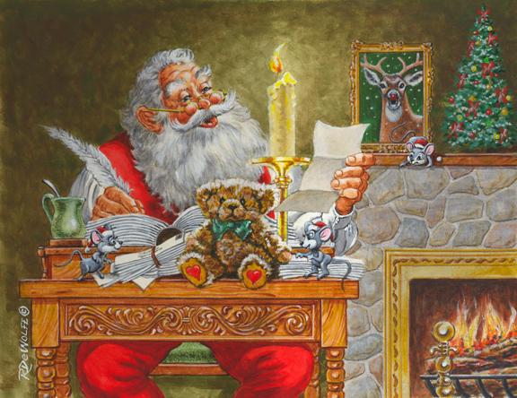 Dear Santa by Richard de Wolfe
