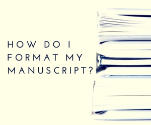 how do i format my manuscript