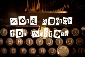 Word Search for Writers (Mondays)