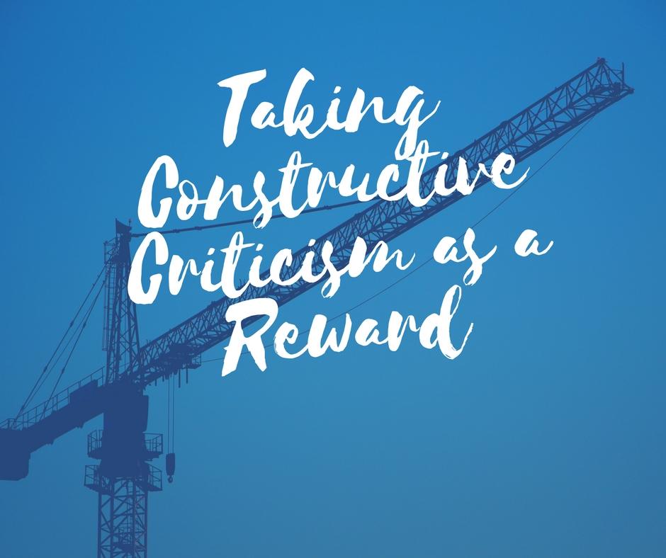 Taking Constructive Criticism as a Reward