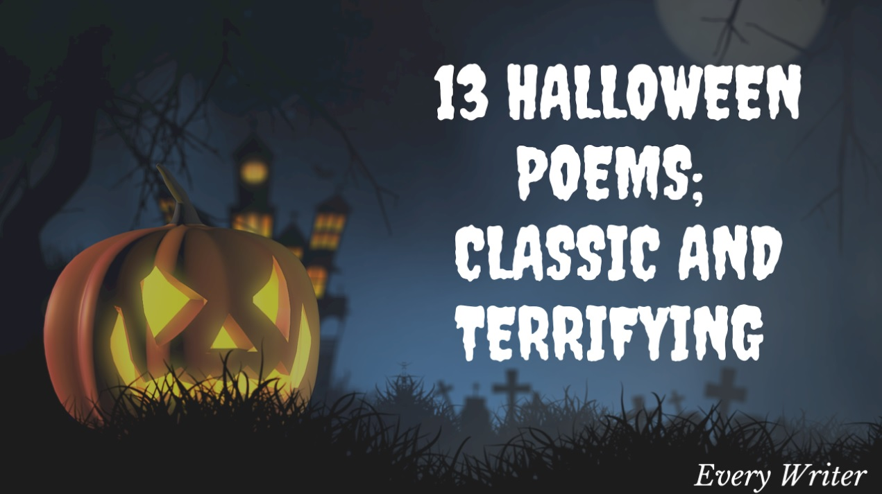 13 halloween poems: classic and terrifying - every writer