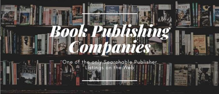 Book publishers picture to our page