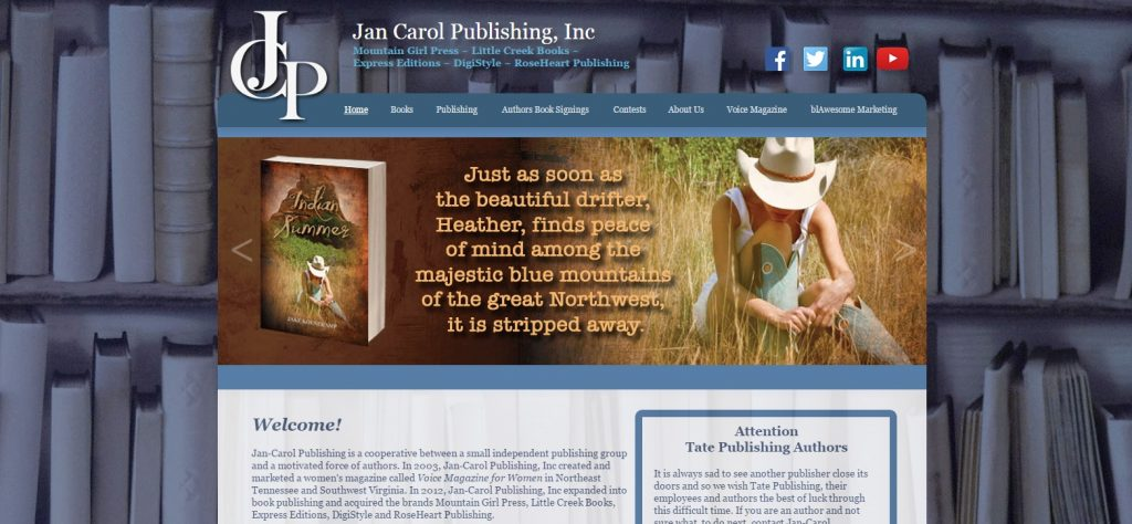 Jan-Carol Publishing, INC