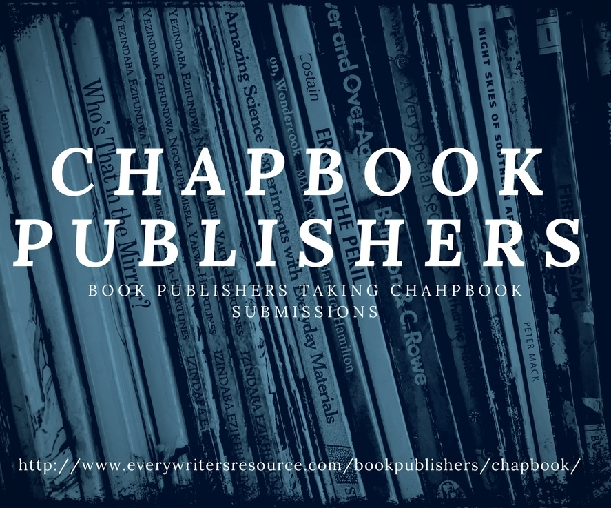 Chapbook Publishers