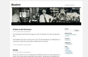 The Bluebird Journal