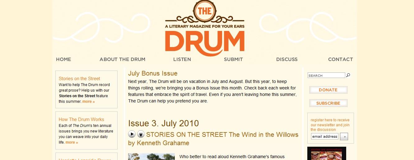 The Drum Literary Magazine