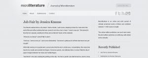 Journal of Microliterature