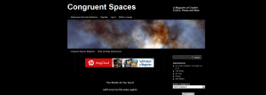 Congruent Spaces Magazine