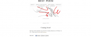 Best Poem: A Poetry Journal
