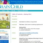 Brain, Child: The Magazine for Thinking Mothers