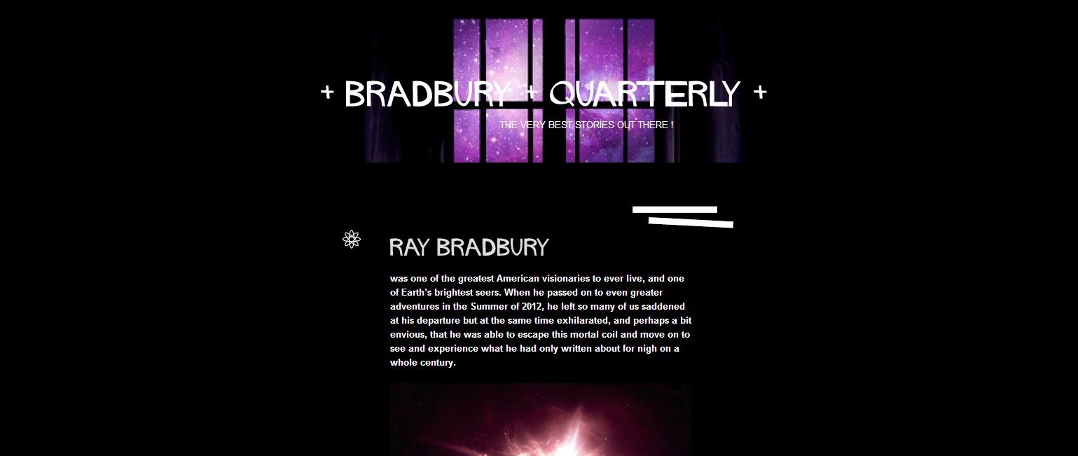 Bradbury Quarterly