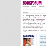 Bookforum Magazine