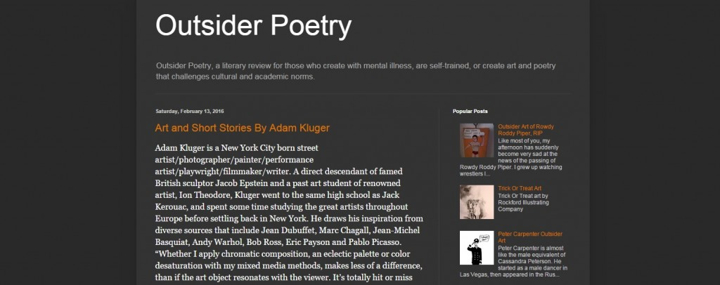 outsider poetry