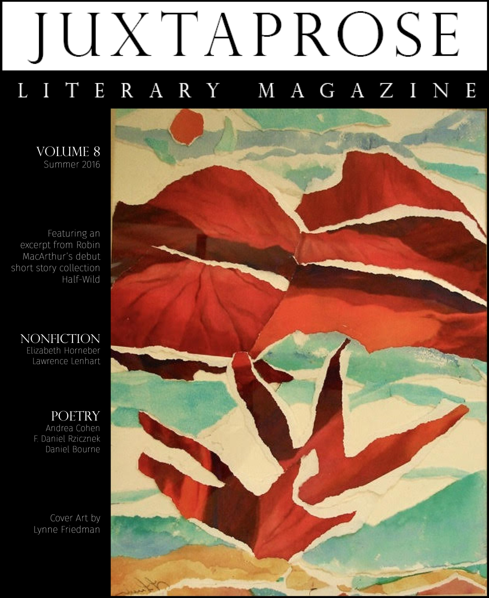 Online literary journals for new writers