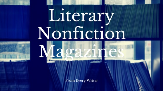 Growing List of Nonfiction Literary Magazines