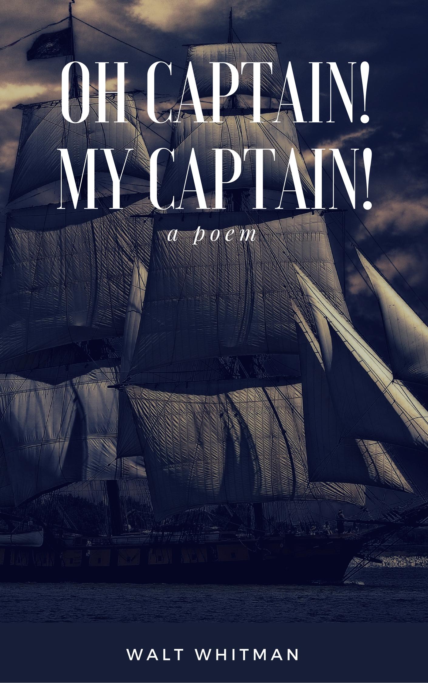 o captain my captain and the Questo blog è una pagina web personale e senza fini di lucro alcune immagini e creazioni grafiche sono state trovate su internet e non c'è stato modo di appurare.