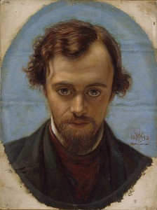 THE NEVERMORE by Dante Gabriel Rossetti
