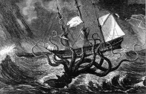 The Kraken by Lord Alfred Tennyson