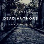 Dead Authors by Blazhia Parker