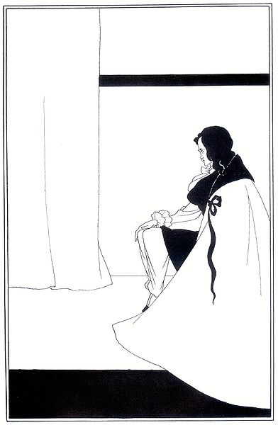 The Fall of the House of Usher by Aubrey Beardsley
