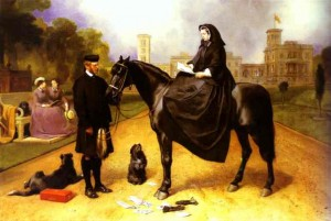 Queen Victoria at Osborne House by Sir Henry Edwin Landseer