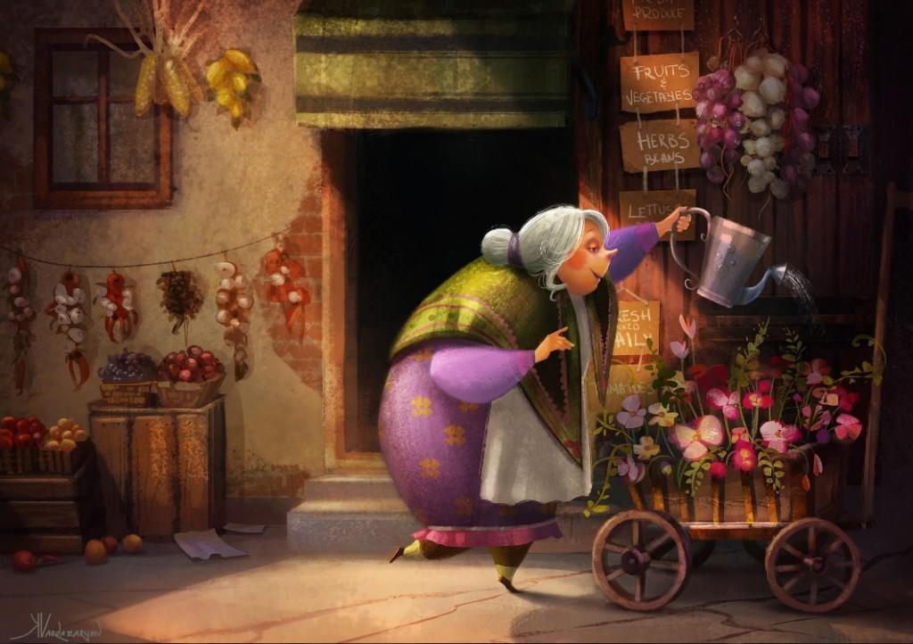 Art by Kristina Vardazaryan (click for more)
