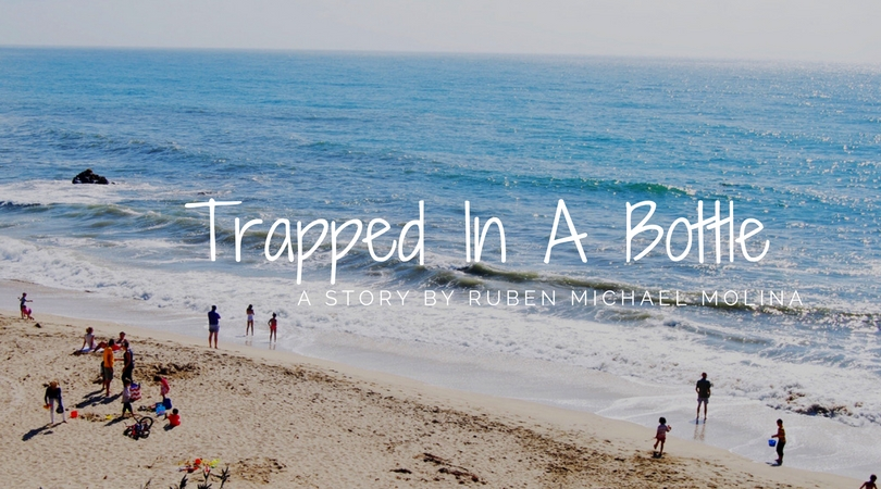 Trapped In A Bottle by Ruben Michael Molina