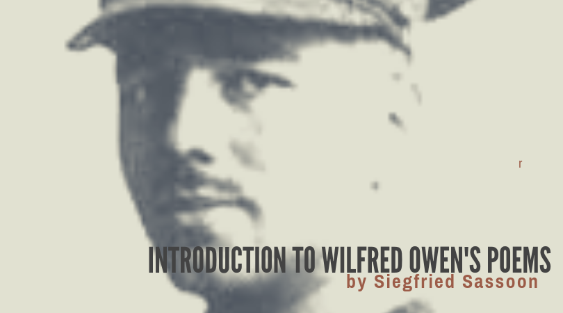 INTRODUCTION TO WILFRED OWEN'S POEMS