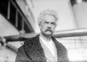 Interview with Mark Twain