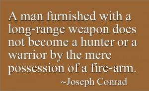 Quotes by Joseph Conrad