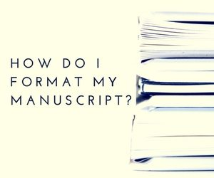 How do I format my manuscript?