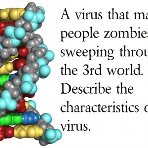 Creative Writing Prompt 3: Writing Prompts that end the world: Name that Virus