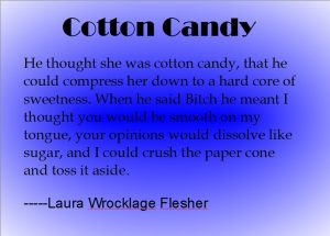 Second Place 50 Word Contest: Cotton Candy