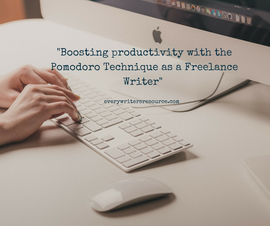 Boosting productivity with the Pomodoro Technique as a Freelance Writer