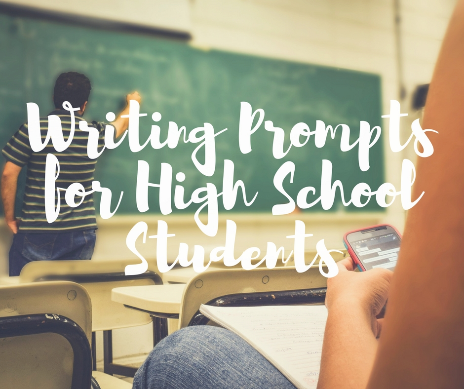 high school writing prompts Writing prompts are topics and questions that help the creative juices flowing  here are 25 prompts just for kids to keep them writing all summer long.